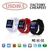 Buy cheap Intelligent  iPhone Samsung Android Smart Watch Wrist Bracelet U8 Bluetooth from wholesalers