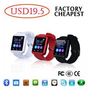 China Intelligent  iPhone Samsung Android Smart Watch Wrist Bracelet U8 Bluetooth on sale