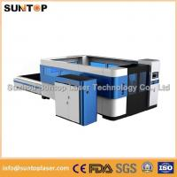Buy cheap Mild steel , aluminium , brass and copper fiber cnc laser cutting machine from wholesalers