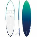 Buy cheap 9'6 Fiberglass Blow Up Surfboard 168L Volume High Speed Long Distance Cruising from wholesalers