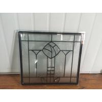 Artistic Tempered Safety Glass IGCC / IGMA Certification Steel Frame