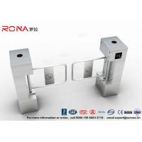 Buy cheap RFID Biometric Swing Barrier Gate , Bank Bridge Access Control Turnstile from wholesalers