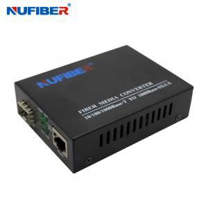 Buy cheap 10/100Mbps SFP Fiber Media Converter 10/100Base-TX RJ45 Port to 100Base-FX SFP Slot  NF-C560-SFP product