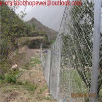Buy cheap Rockfall Barriers And Fences,Slope Protection/Slope Fence Mesh/Protection Wire Mesh Netting for slope from wholesalers
