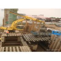 High Efficiency Excavator Telescopic Boom For Groundwork Construction