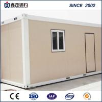 Buy cheap Modular Customized Flat Pack 20ft Container House with Sandwich Panels from wholesalers