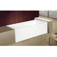 Buy cheap cUPC skirted acrylic cheap bathtub 3 sides tile flange 4mm pure acrylic sheet from wholesalers