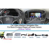 Buy cheap WIFI / TMC Android Car Interface Multimedia Navigation System For Buick 800 * 480 from wholesalers