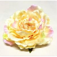 Buy cheap Foldable Tiny Fabric Flowers Warm Yellow Color Environmental Friendly from wholesalers
