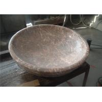 Buy cheap Red Agate Marble Bathroom Sink , Stone Bowl Basin Beautiful Appearance from wholesalers