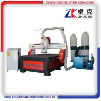 Buy cheap Rack gear Advertising Woodworking CNC Engraving Machine CNC Router ZKM-1218-3.2KW product