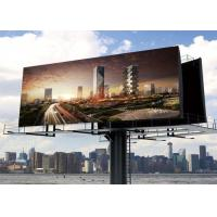 China P20 Outdoor LED Billboard , LED Display Screen For Advertising Outdoor on sale