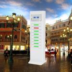 Buy cheap Restaurant CellPhone USB Phone Charging Station Kiosk High Technology Design from wholesalers