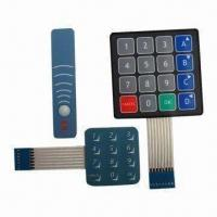 Buy cheap Light Tactile Membrane Switch with Metal Domes Inside from wholesalers
