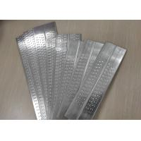 China H14 H24 Anti Corrosion Aluminum Extrusion Profiles Dimple Flat Tube For Truck Radiators on sale