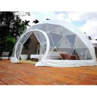 Buy cheap 4M Garden Igloo Geodesic Dome Tent , Geodesic Event Dome Beach Shelter from wholesalers