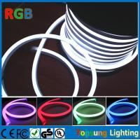 Buy cheap 220V RGB  Full Color changing LED Neon Rope Flexible PVC Tube light (14*26mm) from wholesalers