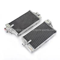 Buy cheap Off Road Honda Cr125 Radiator , Extremely Cooling Efficient Custom Motorcycle Radiator from wholesalers