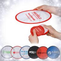 Buy cheap Foldable Frisbee with pouch, folding frisbee, advertising frisbee, flying disc product