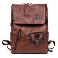 Buy cheap M new winter pu leather shoulder bag backpack student book bags European and American fashion retro casual product