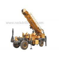 Buy cheap 400M Trailer Mounted 4 Wheels Diesel Engine Water Well Drilling Rig from wholesalers