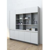 China Modern Luxury File Storage Cabinet , High Gloss Solid Wood File Cabinet on sale