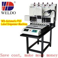 Buy cheap WD automatic soft pvc dropping machine for pvc luggage tag from wholesalers
