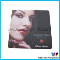 Buy cheap CMYK offset printing Tissue absorbent personalized bar coasters of absorbent paper from wholesalers
