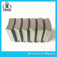 Buy cheap N52 Sintered Neodymium Iron Boron Magnet Arc Shaped Custom Size And Shape product