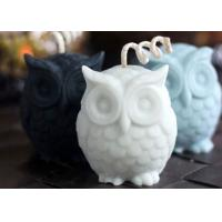 Buy cheap Desktop Decorative Large Owl Shaped Silicone Candle Molds 8.5*6.5*8.5/400g from Wholesalers