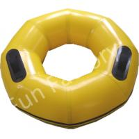 Buy cheap Small water park games , inflatable water products yellow swimming tube for kid from wholesalers