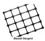 Buy cheap 15KN x 15KN Black Biaxial Plastic Geogrid/ Plastic Geogrid for road construction/ PP Geogrid from wholesalers