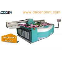 Buy cheap RICOH GEN4 uv flatbed printer instead of Konica printhead printer from wholesalers