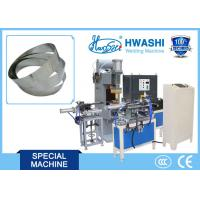 Buy cheap Full Automatic Glass Lid Belt / Strip Butt Welding Machine , SS Cookware Making Machine from wholesalers
