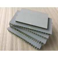 Buy cheap Silver Aluminum Honeycomb Panels 12mm Thickness Anti - Static Corrosion from wholesalers