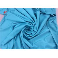 Buy cheap UPF 50 Soft Hand Feel 4 Way Stretch Lycra Fabric Blue Color Warp Knitted from wholesalers