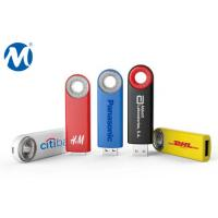 Buy cheap Metal Swivel capless usb flash drive with key loop and can do laser logo product