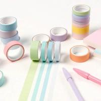 Buy cheap Adhesive Scrapbooking DIY Craft Gift Decorative Washi Tape Masking Washi Tape from wholesalers