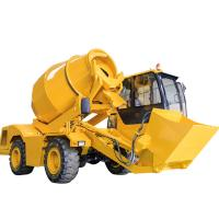 Buy cheap Concrete Mixer Truck Dimensions 4 Cubic Meter Self Loading Concrete Mixer Truck from wholesalers