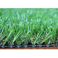 U Shape 25mm Artificial Grass Landscaping Fire Resistant For Homes Garden Backyard