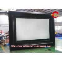Buy cheap Airblown Inflatable Movie Screen For Family Gatherings / Commercial Displays from wholesalers