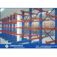 Buy cheap Double Sided Cantilever Rack OEM , Heavy Duty Cantilever Warehouse Racks from wholesalers