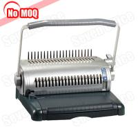 Buy cheap NO MOQ office use manual book binder A4 paper comb binding machine manufacturer from wholesalers