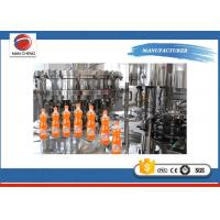 Customized Carbonated Water Filling Machin , Soft Drink Filling Machine 4.4kw