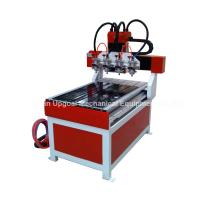 Buy cheap Small 4 Spindles 600*900mm Wood CNC Carving Machine from wholesalers