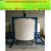 Buy cheap 5 Tons Round Cone Bottom Acid Base Plastic Tip No Residual Water Tank from wholesalers