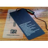 Buy cheap Recycled Paper / PVC Hang Tags Personalized Clothing Labels Tags With String from wholesalers