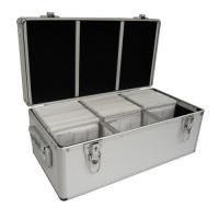 Buy cheap 2 Combination Lock Aluminium CD Storage Case , Waterproof Aluminum DVD Storage Case from wholesalers
