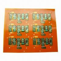 Buy cheap Double-sided Flexible Circuit Board with FR4 Stiffener  from wholesalers