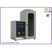 Buy cheap JIS-1091 Flammability Test Apparatus Textile Vertical 220V 50HZ 40mm Flame Height from wholesalers